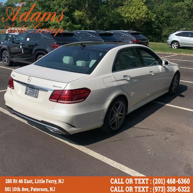 Used Mercedes-Benz E-Class 4dr Sdn E 350 Sport 4MATIC 2015 | Adams Auto Group . Little Ferry , New Jersey