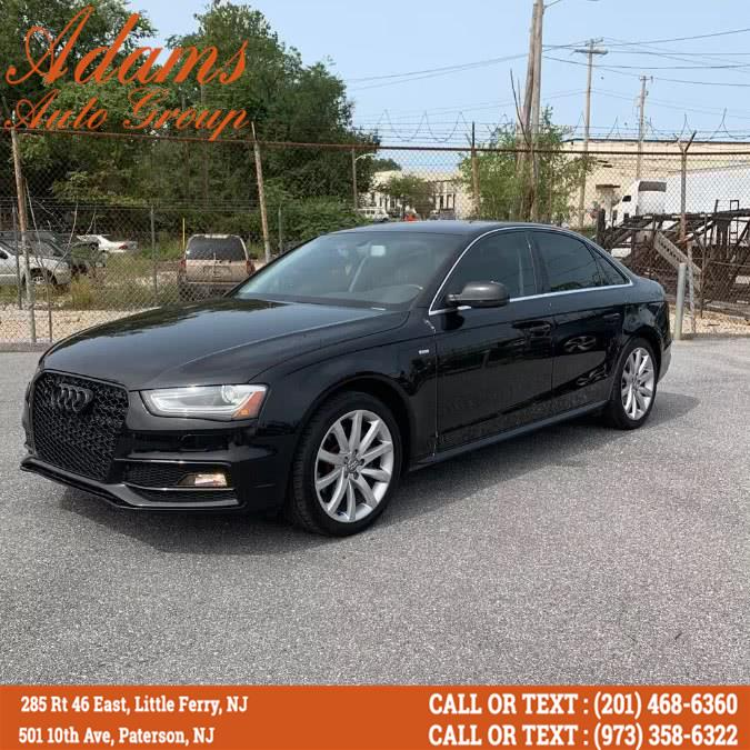 Used 2014 Audi A4 in Paterson, New Jersey | Adams Auto Group. Paterson, New Jersey