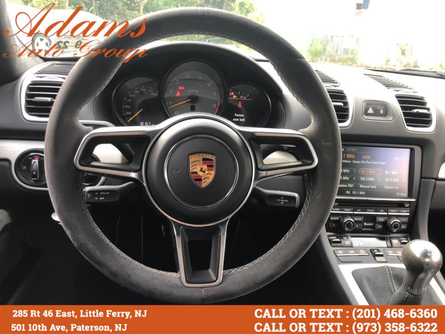Used Porsche Cayman 2dr Cpe GT4 2016   Adams Auto Group. Paterson, New Jersey