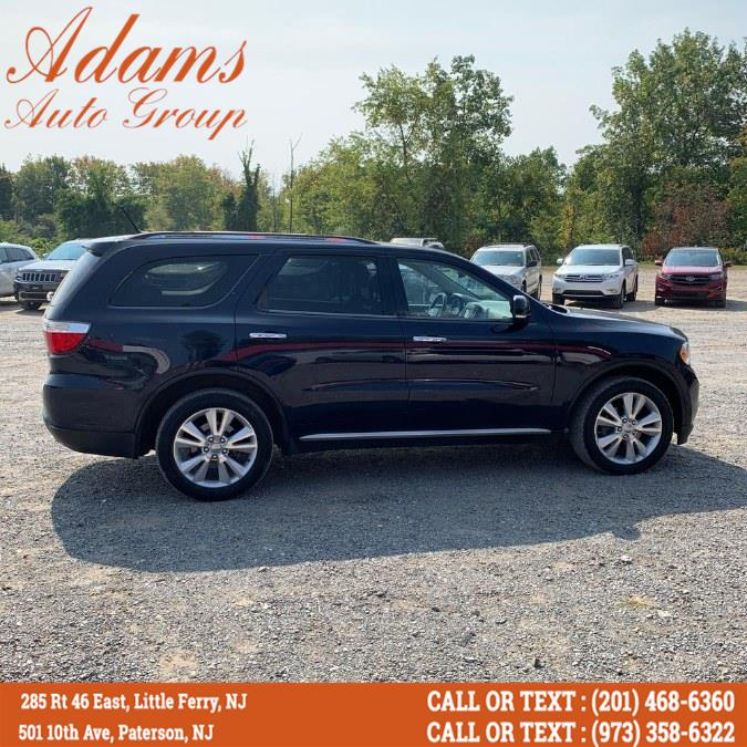Used Dodge Durango AWD 4dr Crew 2013 | Adams Auto Group. Paterson, New Jersey