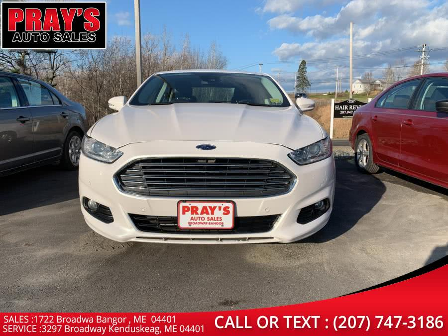 Used 2015 Ford Fusion in Bangor , Maine | Pray's Auto Sales . Bangor , Maine