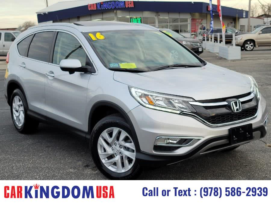 Used Honda CR-V EX Real Time AWD SUV AWD 5dr EX-L w/Navi 2016 | Car Kingdom USA. Lawrence, Massachusetts