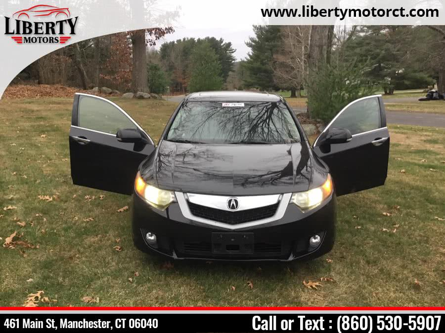 Used Acura Tsx 4dr Sdn 2.4L Auto Limited 2009 | Liberty Motors. Manchester, Connecticut
