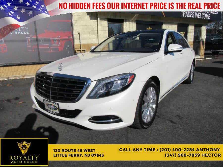 Used 2015 Mercedes-Benz S-Class in Little Ferry, New Jersey | Royalty Auto Sales. Little Ferry, New Jersey