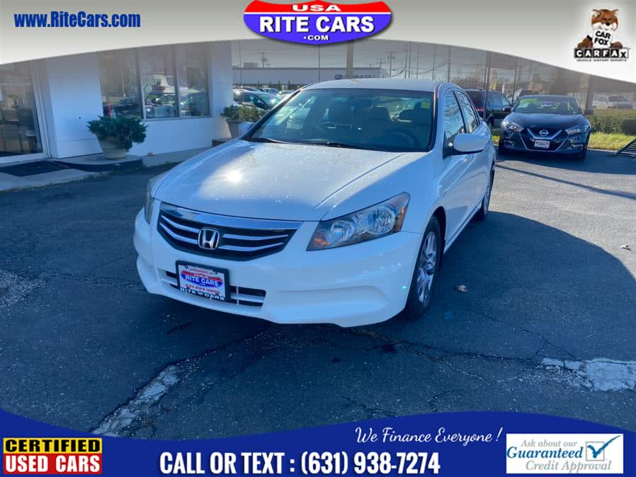 Used Honda Accord Sdn 4dr I4 Auto SE 2012 | Rite Cars, Inc. Lindenhurst, New York