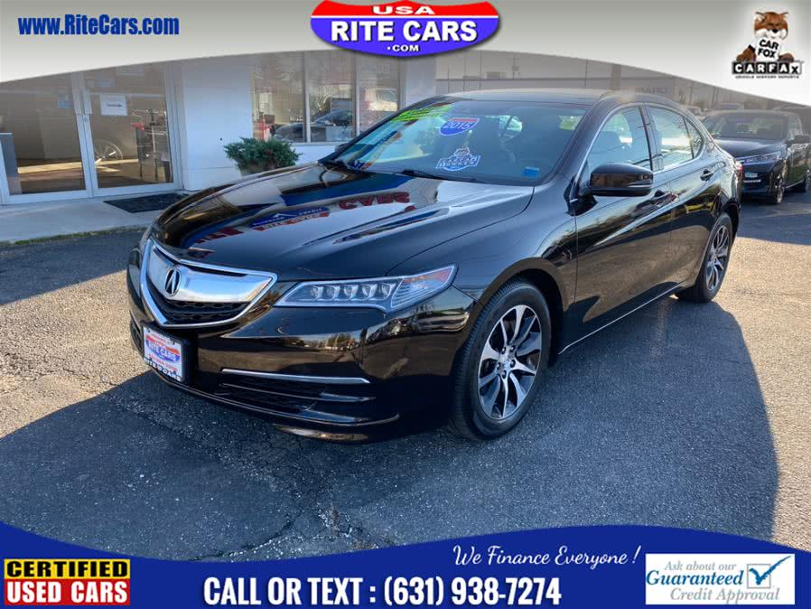 Used Acura TLX 4dr Sdn FWD Tech 2015 | Rite Cars, Inc. Lindenhurst, New York