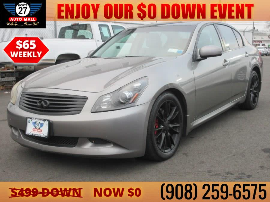 Used 2007 Infiniti G35 Sedan in Linden, New Jersey | Route 27 Auto Mall. Linden, New Jersey