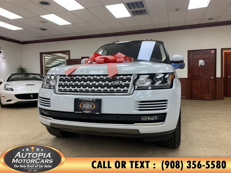 Used 2017 Land Rover Range Rover in Union, New Jersey | Autopia Motorcars Inc. Union, New Jersey