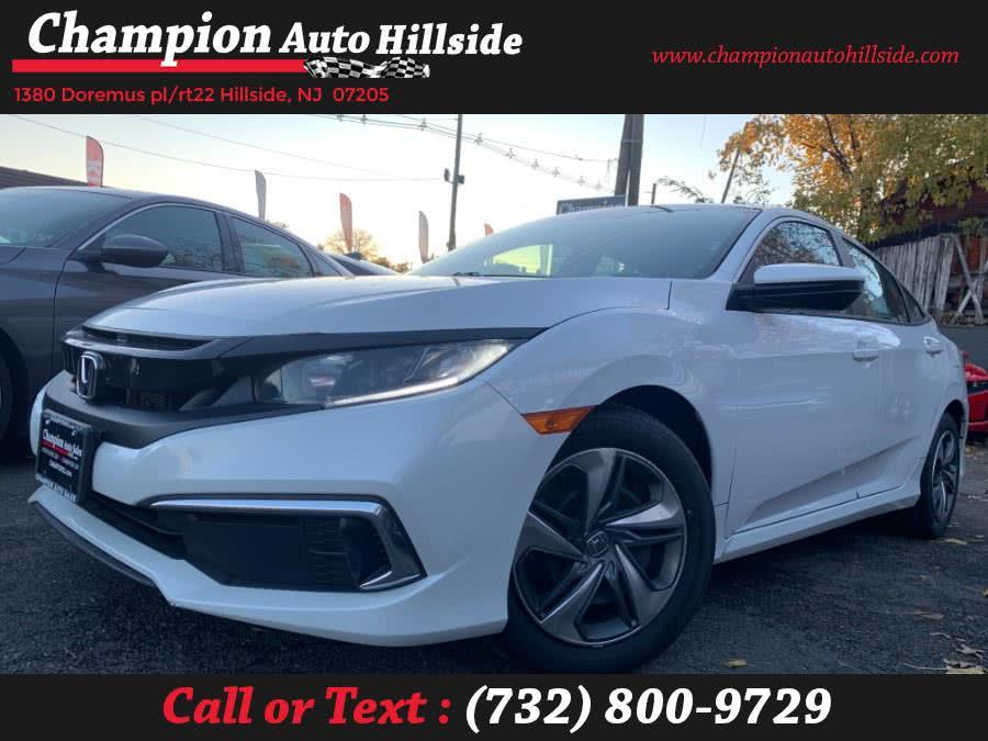 Used 2019 Honda Civic Sedan in Hillside, New Jersey | Champion Auto Sales. Hillside, New Jersey