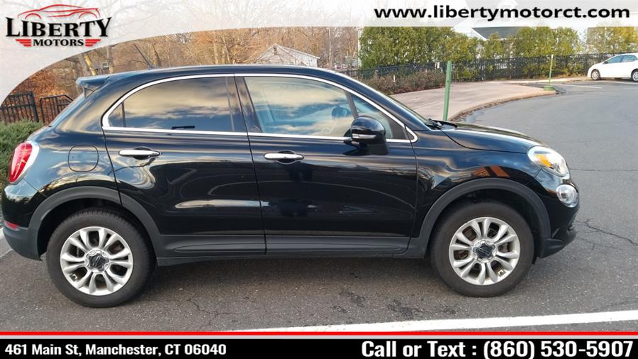 Used FIAT 500X AWD 4dr Lounge 2016 | Liberty Motors. Manchester, Connecticut