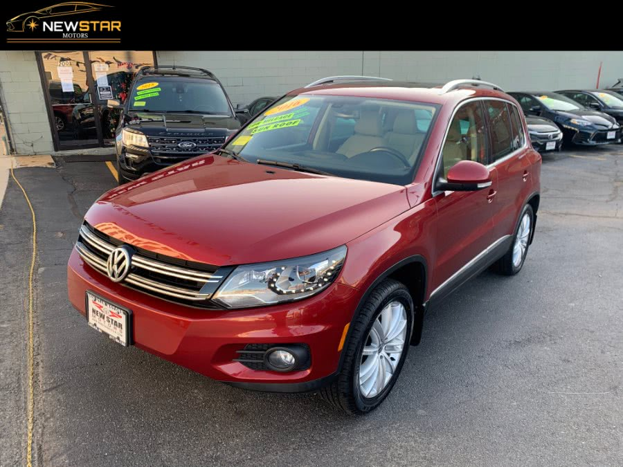 Used 2016 Volkswagen Tiguan in Chelsea, Massachusetts | New Star Motors. Chelsea, Massachusetts