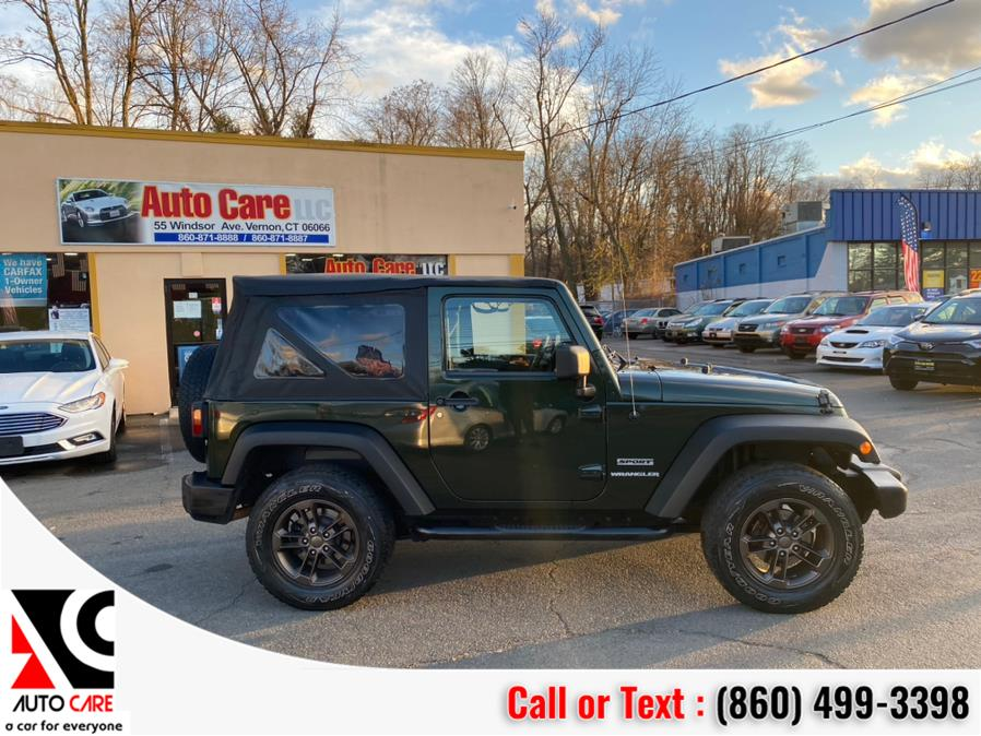 Used Jeep Wrangler 4WD 2dr Sport 2011 | Auto Care Motors. Vernon , Connecticut