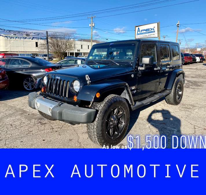Used Jeep Wrangler Unlimited 4WD 4dr Sahara 2009   Apex  Automotive. Waterbury, Connecticut