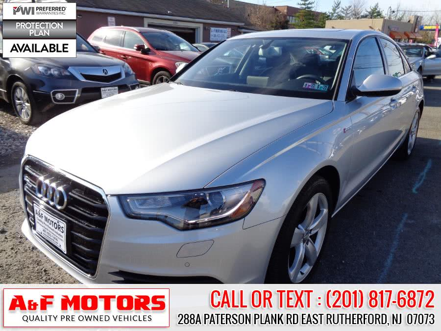 Used Audi A6 4dr Sdn quattro 3.0T Premium Plus 2012 | A&F Motors LLC. East Rutherford, New Jersey