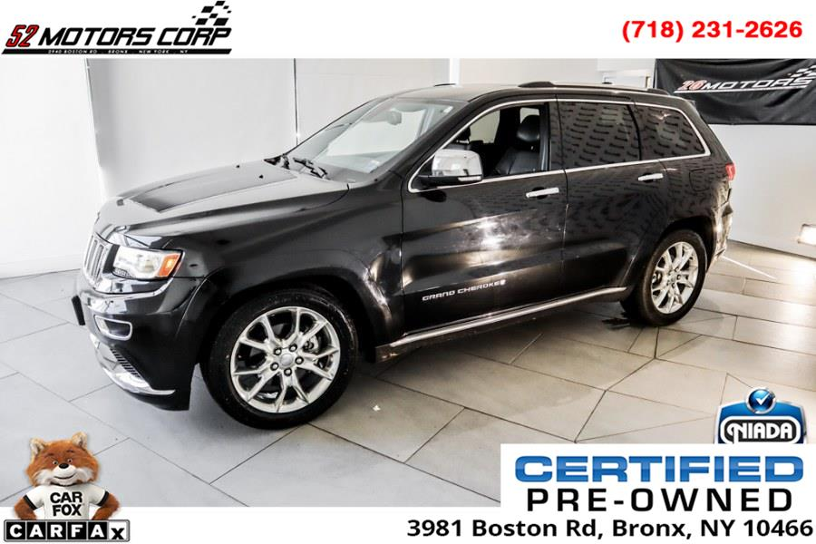 Used Jeep Grand Cherokee 4WD 4dr Summit 2014 | 52Motors Corp. Woodside, New York