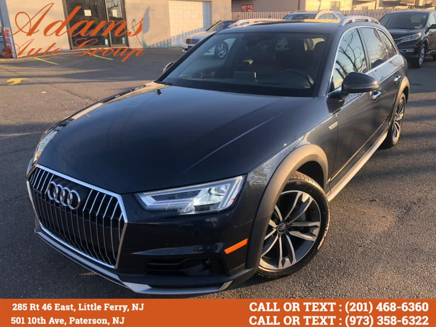 Used 2017 Audi allroad in Paterson, New Jersey | Adams Auto Group. Paterson, New Jersey