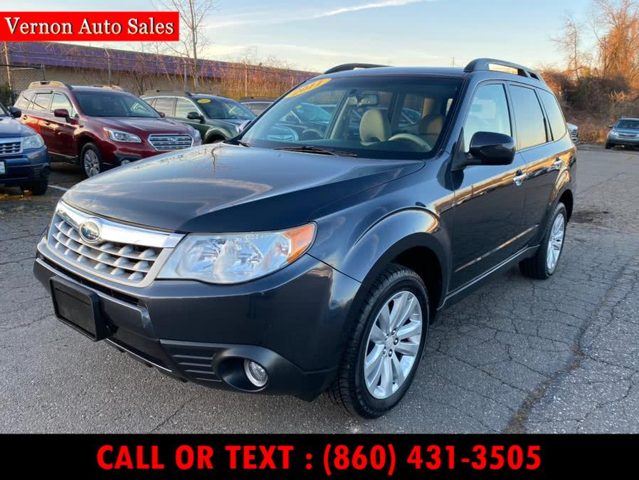 Used 2011 Subaru Forester in Manchester, Connecticut | Vernon Auto Sale & Service. Manchester, Connecticut