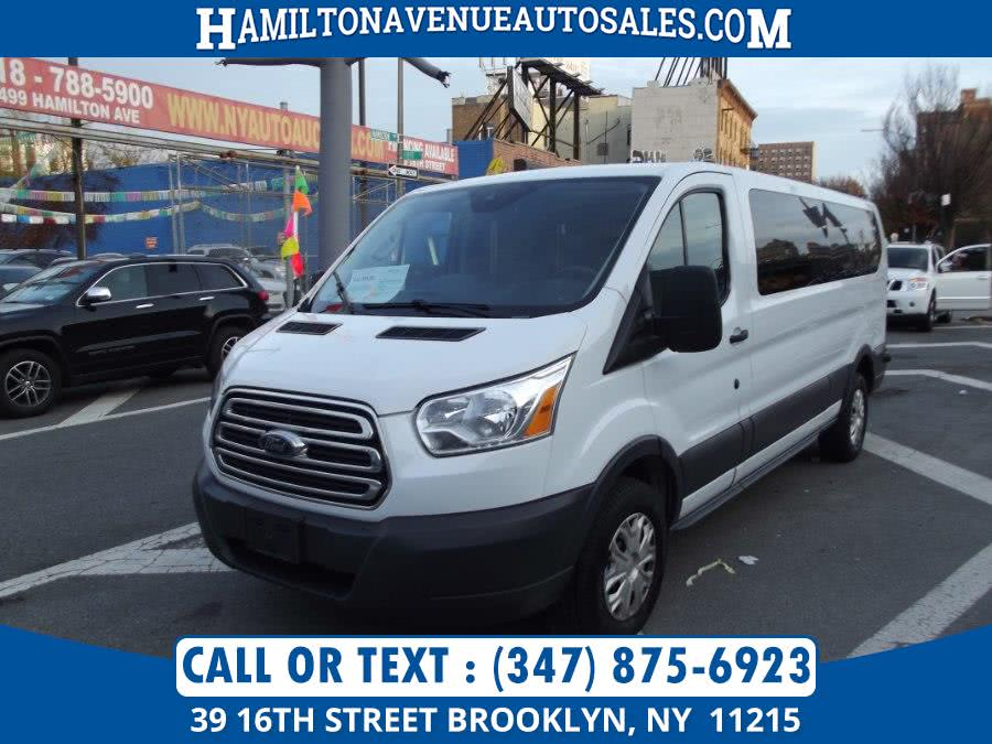 Used Ford Transit Wagon passenger 2017 | Hamilton Avenue Auto Sales DBA Nyautoauction.com. Brooklyn, New York