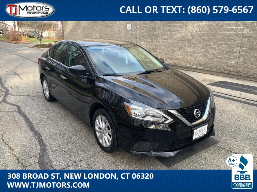 Used 2019 Nissan Sentra in New London, Connecticut | TJ Motors. New London, Connecticut