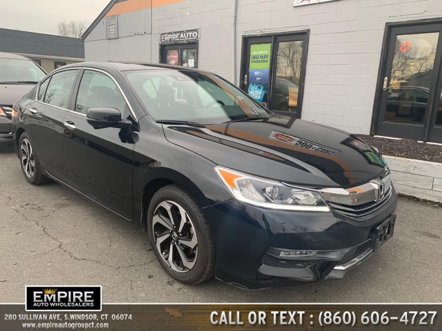 Used Honda Accord Sedan EX-L CVT w/Navi & Honda Sensing 2017 | Empire Auto Wholesalers. S.Windsor, Connecticut
