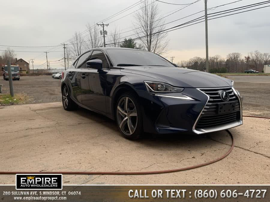 Used Lexus IS IS 300 AWD 2018 | Empire Auto Wholesalers. S.Windsor, Connecticut