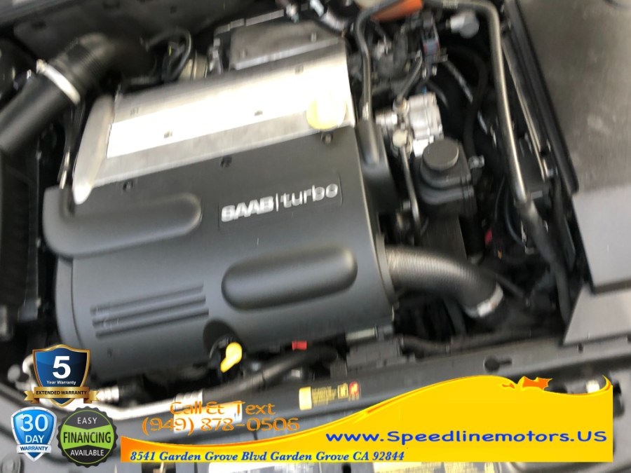 Used Saab 9-3 4dr Sport Sdn Linear 2005 | Speedline Motors. Garden Grove, California