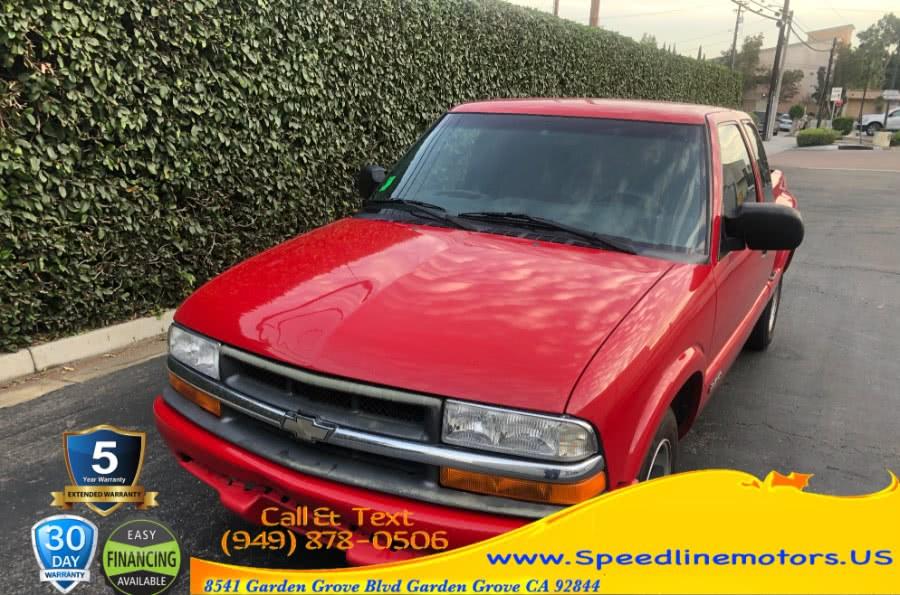 "Used Chevrolet S-10 Ext Cab 123"" WB LS 2000 | Speedline Motors. Garden Grove, California"