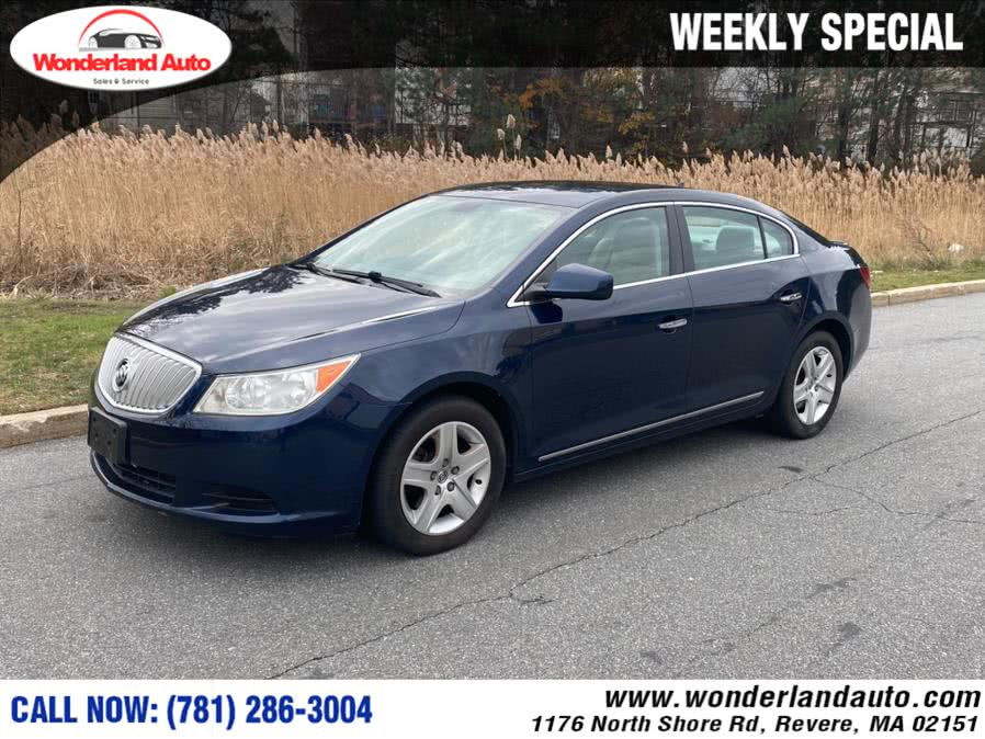 Used 2011 Buick LaCrosse in Revere, Massachusetts | Wonderland Auto. Revere, Massachusetts