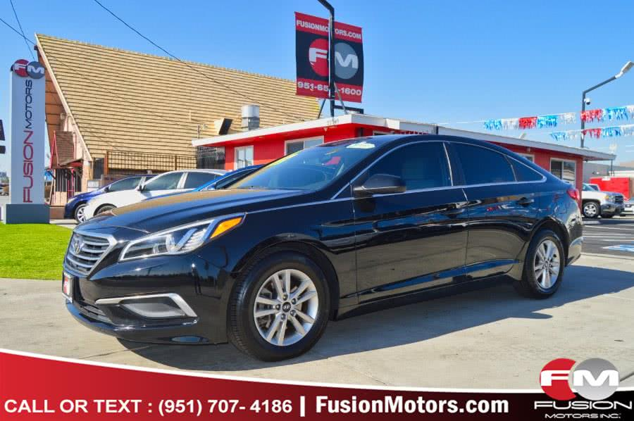 Used 2016 Hyundai Sonata in Moreno Valley, California | Fusion Motors Inc. Moreno Valley, California