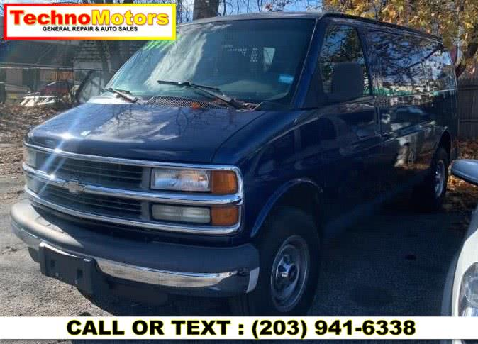 Used 2002 Chevrolet Express Cargo Van in Danbury , Connecticut | Techno Motors . Danbury , Connecticut