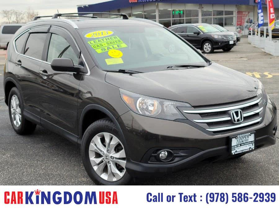 Used Honda CR-V EX-L 5-Passenger 4-Door SUV with The Rear ViewBack Up Camera System. 2013 | Car Kingdom USA. Lawrence, Massachusetts
