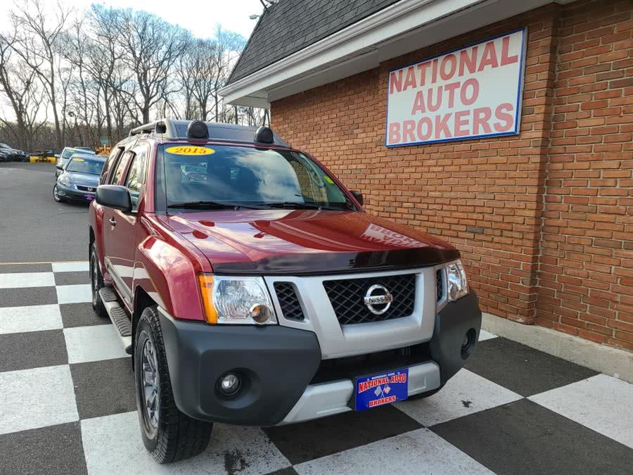 Used Nissan Xterra 4WD 4dr Auto Pro-4X 2015 | National Auto Brokers, Inc.. Waterbury, Connecticut