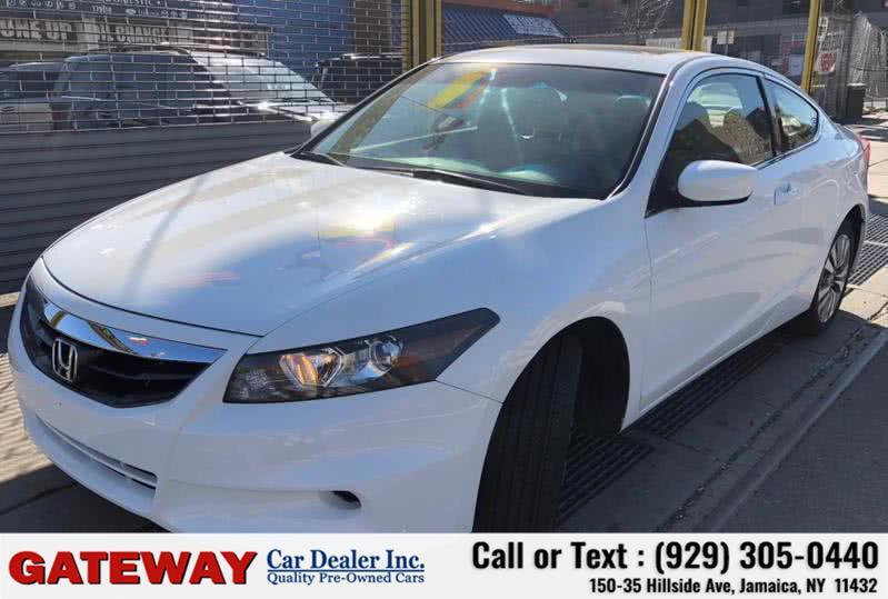 Used 2012 Honda Accord Cpe in Jamaica, New York   Gateway Car Dealer Inc. Jamaica, New York