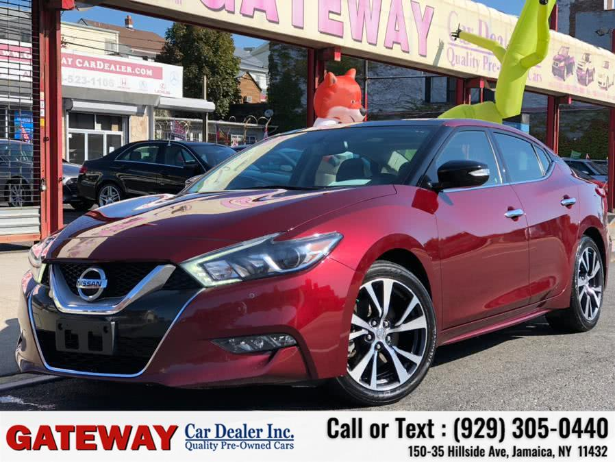 Used 2017 Nissan Maxima in Jamaica, New York | Gateway Car Dealer Inc. Jamaica, New York