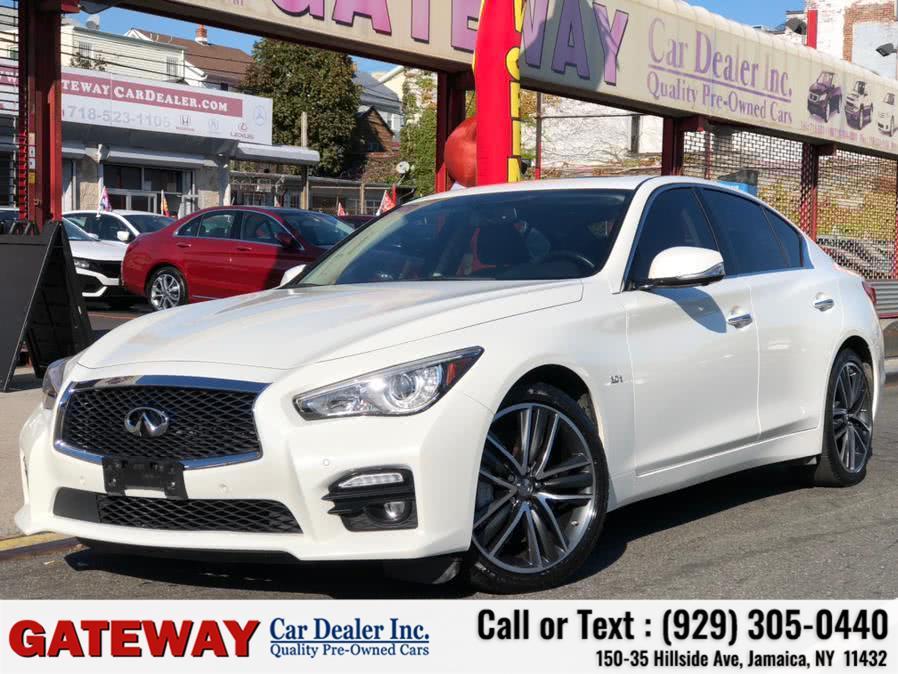 Used 2017 INFINITI Q50 in Jamaica, New York | Gateway Car Dealer Inc. Jamaica, New York