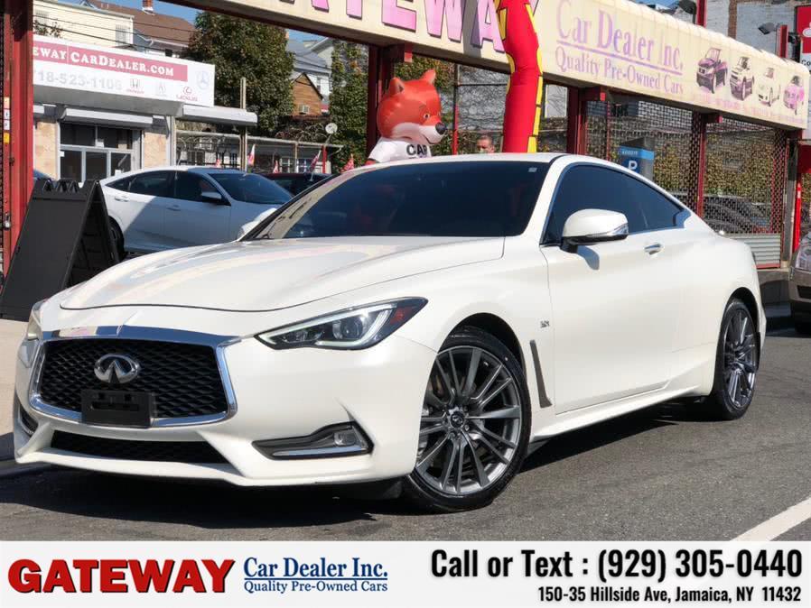 Used 2017 INFINITI Q60 S in Jamaica, New York | Gateway Car Dealer Inc. Jamaica, New York