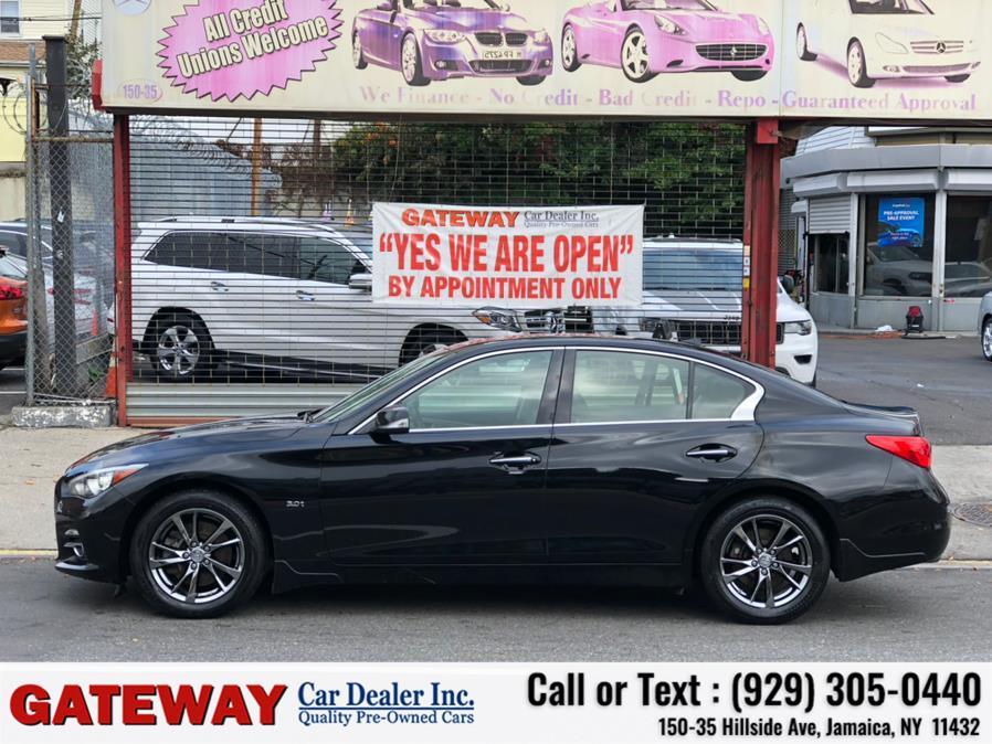 Used INFINITI Q50 3.0t Signature Edition AWD 2017   Gateway Car Dealer Inc. Jamaica, New York