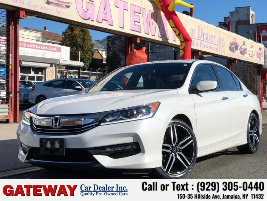 Used Honda Accord Sedan Sport SE CVT 2017 | Gateway Car Dealer Inc. Jamaica, New York