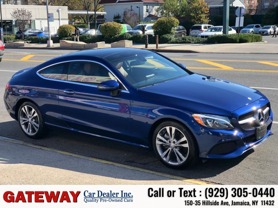 Used Mercedes-Benz C-Class C 300 4MATIC Coupe 2017 | Gateway Car Dealer Inc. Jamaica, New York
