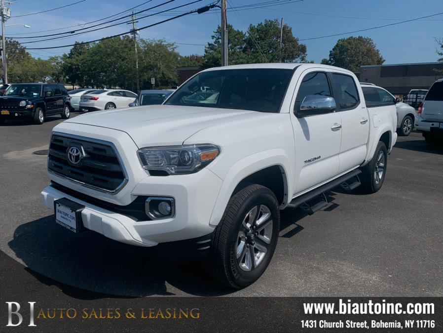 Used Toyota Tacoma Limited Double Cab 5'' Bed V6 4x4 AT (Natl) 2017 | B I Auto Sales. Bohemia, New York