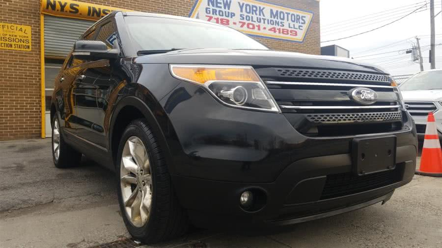 Used Ford Explorer 4WD 4dr Limited 2014 | New York Motors Group Solutions LLC. Bronx, New York