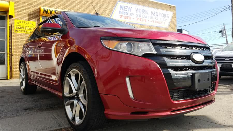 Used Ford Edge 4dr Sport AWD 2013 | New York Motors Group Solutions LLC. Bronx, New York