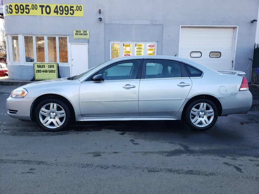 Used Chevrolet Impala 4dr Sdn LT Fleet 2012 | Cos Central Auto. Meriden, Connecticut