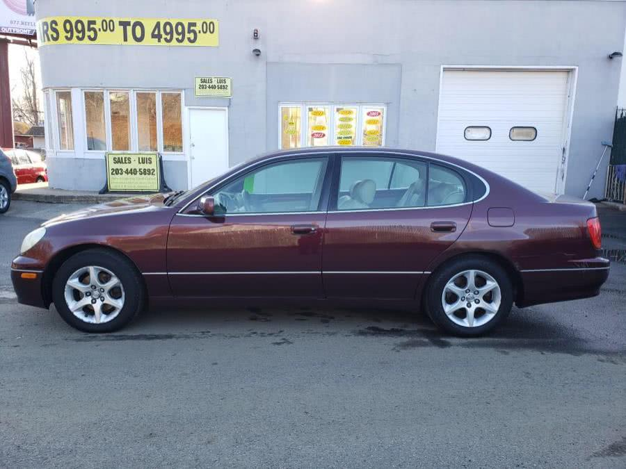 Used 2001 Lexus GS 300 in Meriden, Connecticut | Cos Central Auto. Meriden, Connecticut