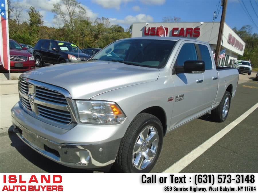 Used Ram Ram Pickup 1500 Big Horn 4x4 4dr Quad Cab 6.3 ft. SB Pickup 2014 | Island Auto Buyers. West Babylon, New York