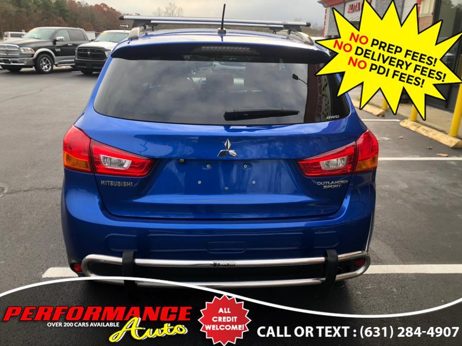 Used Mitsubishi Outlander Sport AWD 4dr CVT SE 2015 | Performance Auto Inc. Bohemia, New York