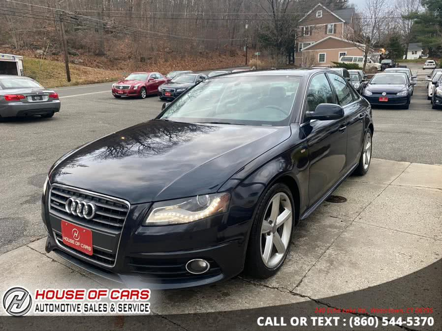 Used Audi A4 4dr Sdn Auto quattro 2.0T Premium Plus 2012 | House of Cars. Watertown, Connecticut