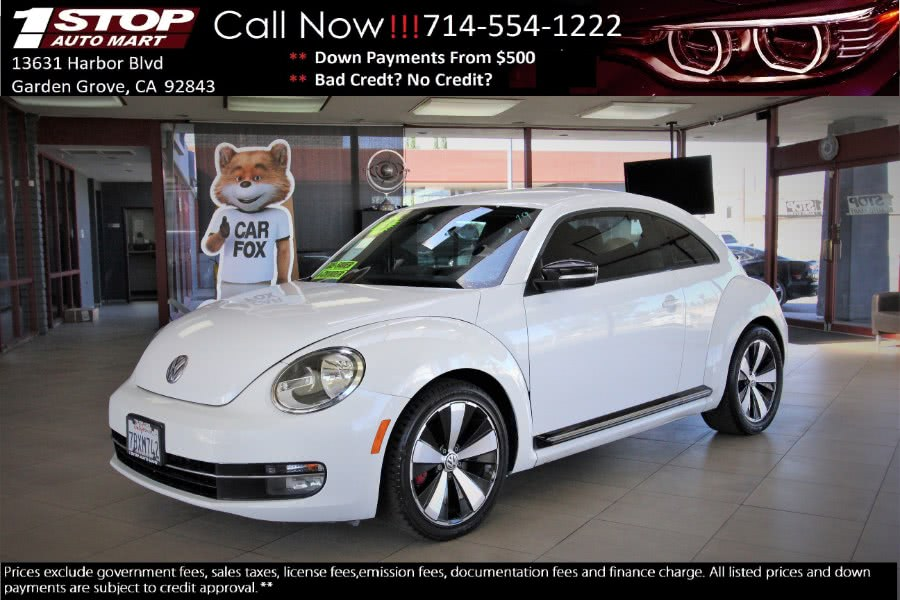 Used 2013 Volkswagen Beetle Coupe in Garden Grove, California | 1 Stop Auto Mart Inc.. Garden Grove, California