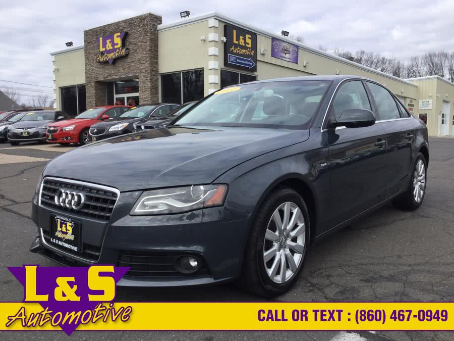 Used 2011 Audi A4 in Plantsville, Connecticut | L&S Automotive LLC. Plantsville, Connecticut