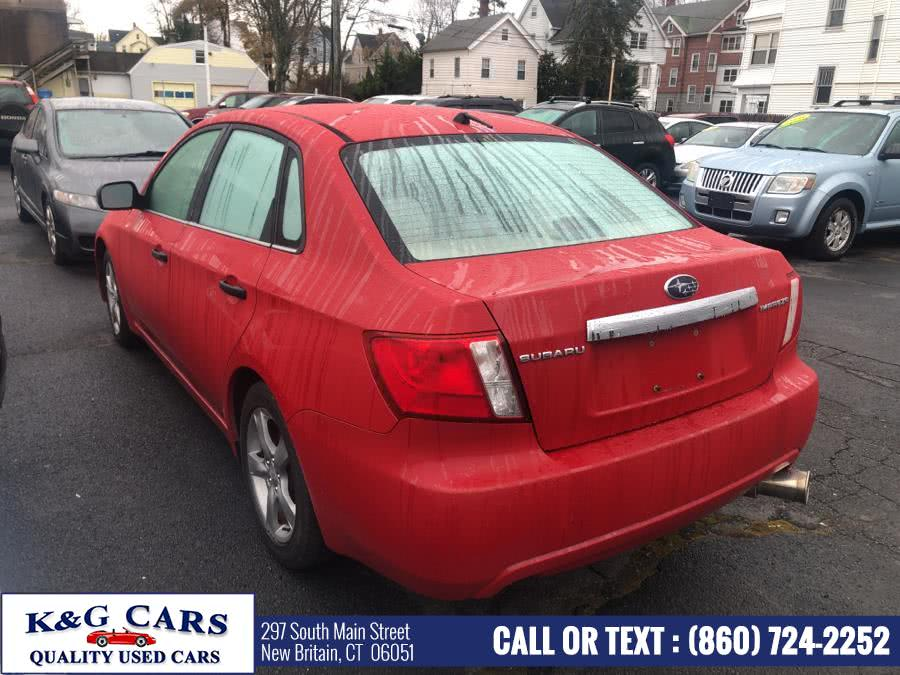 Used 2008 Subaru Impreza Sedan in New Britain, Connecticut | K and G Cars . New Britain, Connecticut